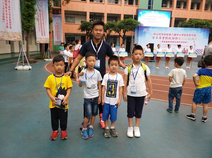 金太阳幼儿园围棋,国际象棋代表队在2018年乐山市校际
